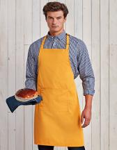 Colours Collection Bib Apron With Pocket